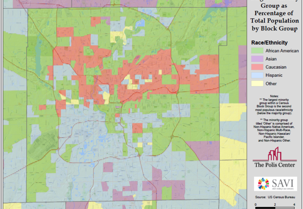 What's the dominant minority population in your neighborhood?