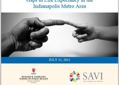 Worlds Apart: Gaps in Life Expectancy in the Indianapolis Metro Area