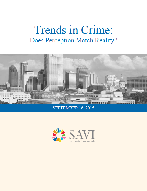 Trends in Crime: Does Perception Match Reality?