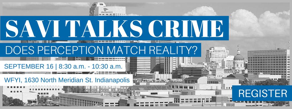 SAVI Talks Crime – Does Perception Match Reality?