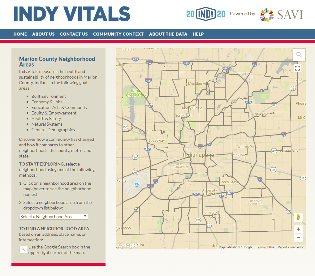 IndyVitals Measures Progress to Plan 2020 Goals