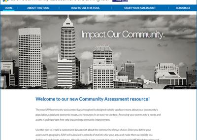 SAVI Community Assessment and Planning Tool