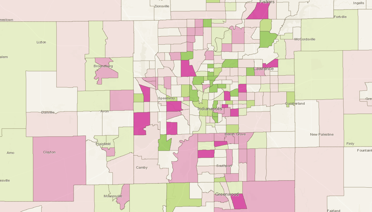 Explore Changes in your Neighborhood with this SAVI App