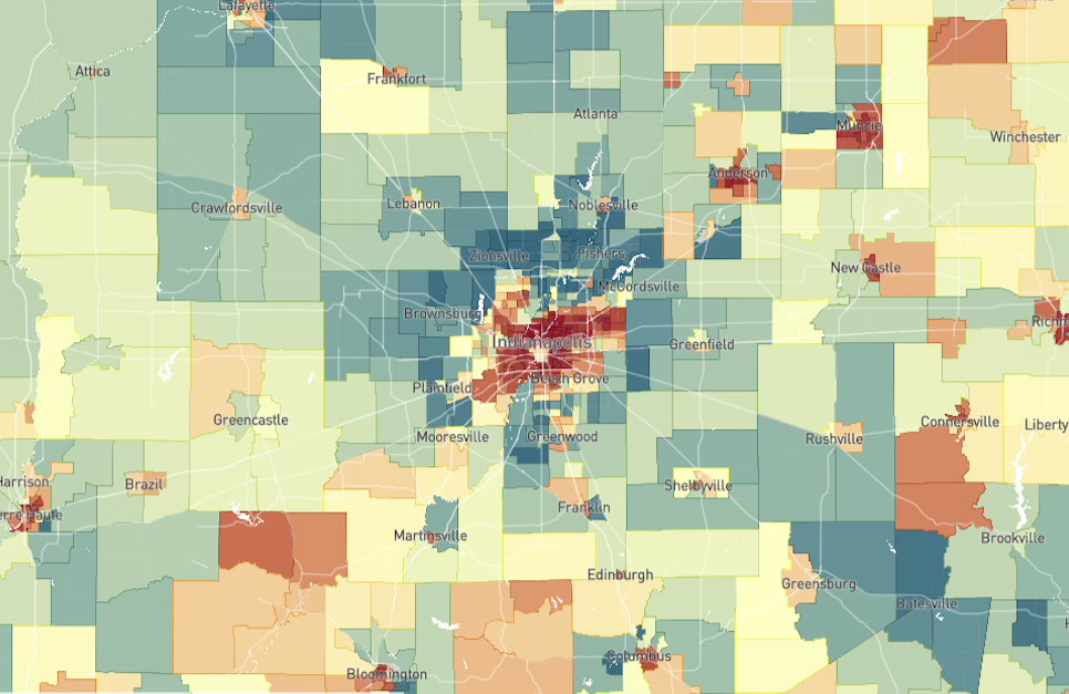 What Can the Opportunity Atlas Tell Us About Indianapolis?