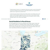 Social Isolation in Older Adults and Food/Meal Locations in Marion County