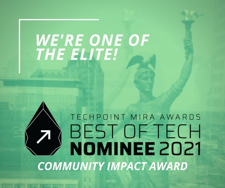 Polis Center nominated for TechPoint Mira Award Community Impact award