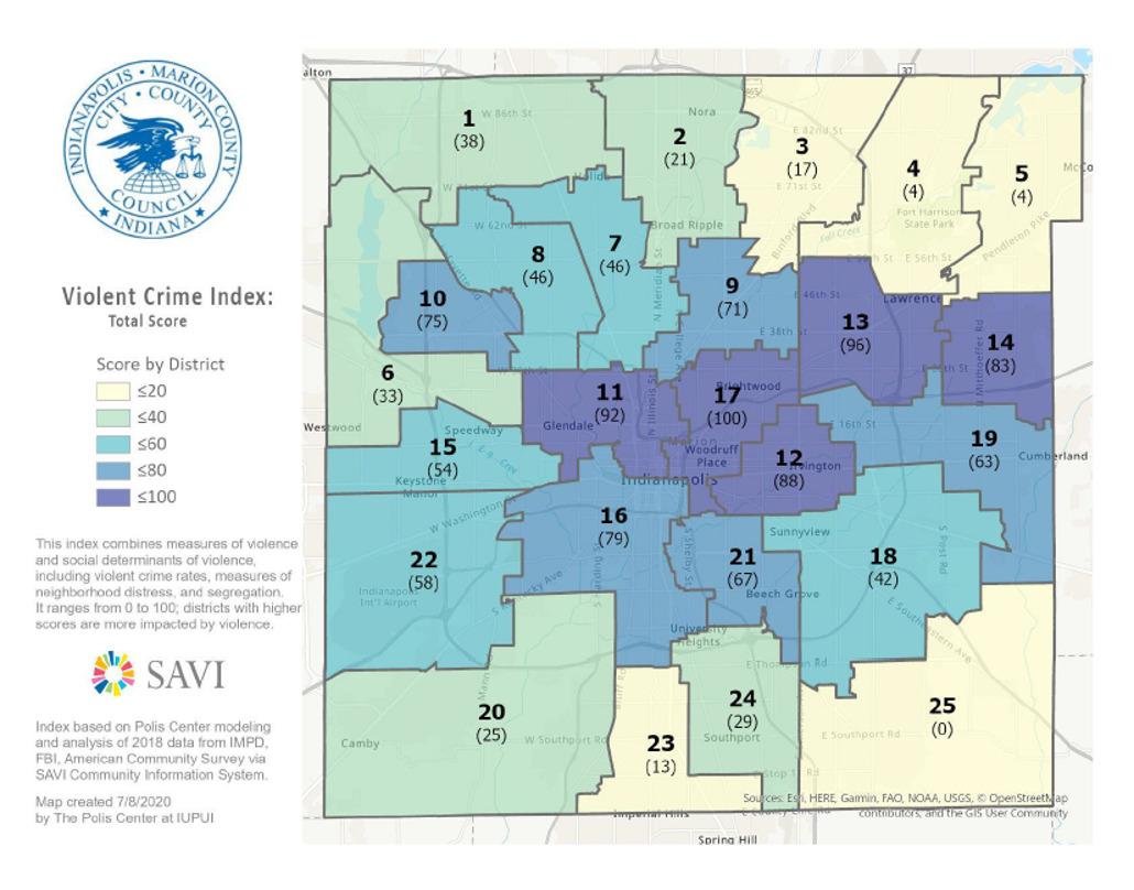 Council District Crime Prevention Grant program
